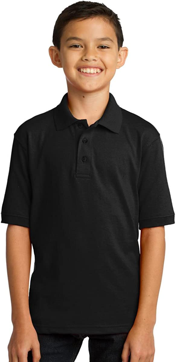 PORT AND COMPANY 55 Ounce Jersey Knit Polo (KP55Y)