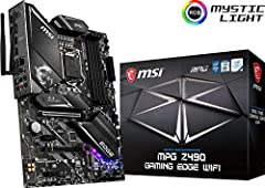 Supports 10th Generation Intel Core / Pentium Gold / Celeron Processors for LGA 1200 socket Supports dual channel DDR4 memory up to 128GB (4800MHz) Lightning USB 20G is powered by the ASmedia 3241 USB 3.2 Gen 2x2 controller, offering never before see...