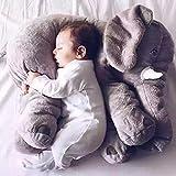 xxoobo,Baby Kissen,Lagerungskissen,Stillkissen,Baby Elefant Kissen Kuscheltier Spielzeug Kinderbett Kissen für Schwangere Frauen Kissen Kind Schlaf Elefant Baby Kind Kissen 60cm