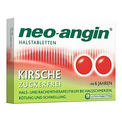 NEO-ANGIN Halstabletten Kirsche 12 St