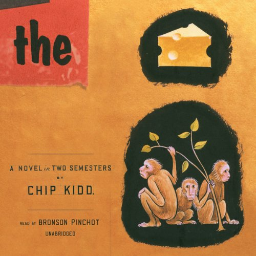 The Cheese Monkeys audiobook cover art