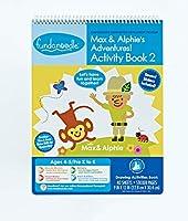 Fundanoodle Max and Alphie's Adventures アクティビティブック 2 40枚 対象年齢4-5枚 KからK (15276)