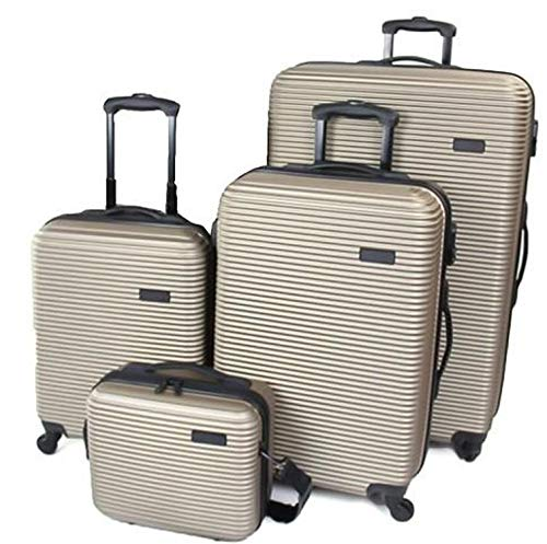 QUBEd Collinear 4 Piece Luggage Set