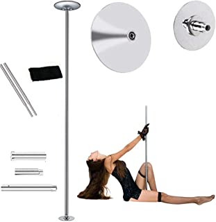 Professional Portable Dance Pole,Fitness Exercise Static Stripper Spinning Dancing Strip