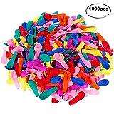 Faburo 1000 Palloncini d'Acqua, Gavettoni, colorato Fluorescente, Facile da riempire 12CM...