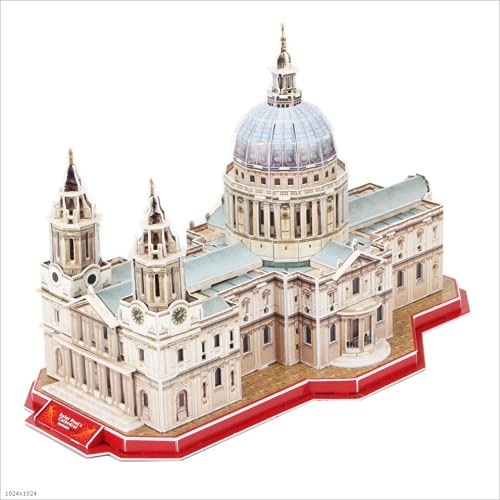 LUGEUK Kits Modelo Modelo 3D basílica de Santa María del Fiore Puzzle