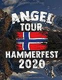 Angeltour Norwegen - Hammerfest 2020: DIN A4 Fangbuch auf über 120 Seiten für den perfekten Angelurlaub in Norge. Angel Buch Notizbuch / Logbuch zum Eintragen der Fänge und Fische.