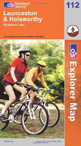 OS Explorer map 112 : Launceston & Holsworthy