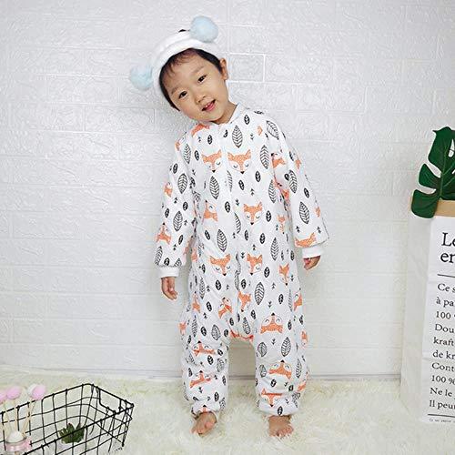 Zijden Baby Slaapzak Draagzak Voor Pasgeboren Baby Dier Patroon Bed Spelen Split Been Winter Anti Tipi Slaapzakken Warm