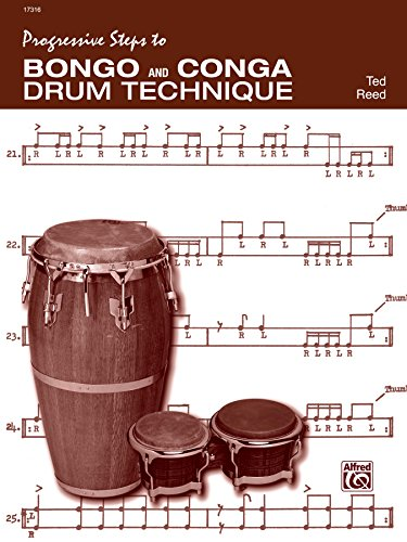 Progressive Steps to Bongo and Conga Drum Technique (English Edition)