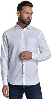 ID Men White Slim Fit Shirt