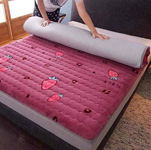 Kunyun Kostenloser Matratze Walkaway-Bett oder Gästebett Faltbare Gesteste hypoallergen japanische Futon-Bett-Matratze Tatami-Bodenmatte Studentenwohnheim Tatami-Matte Traditionelles Futo