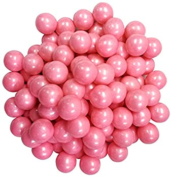 Shimmer Pearl Pink Gumballs 2 Pounds Approximately 120 Pieces-Light Pink