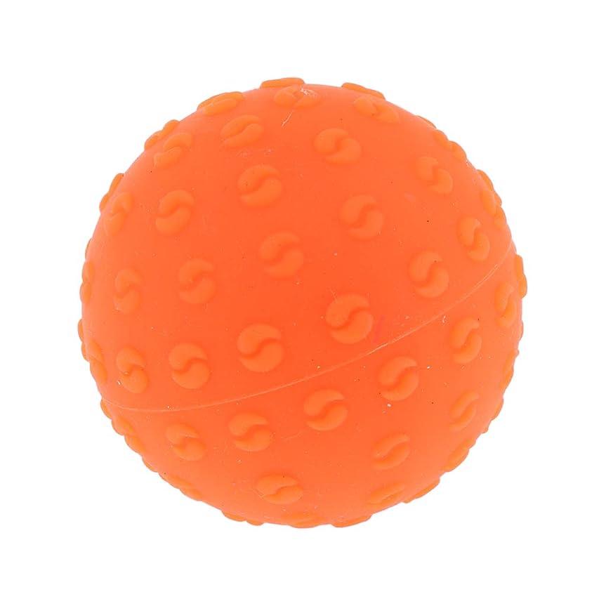 ワットラジエーター猛烈なPerfeclan 全6色 マッサージボール 指圧ボール シリコーン トリガーポイント 足底筋膜炎 ヨガ 耐油性 快適 - オレンジ, 説明のとおり