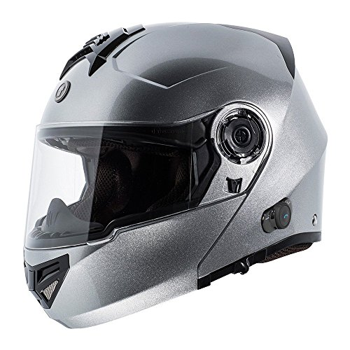 4. TORC T27 Full Face Modular Helmet with Integrated Blinc Bluetooth