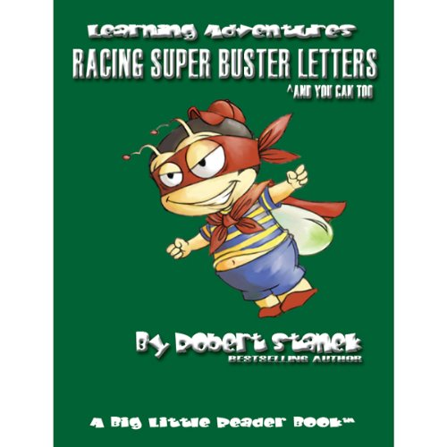 Racing Super Buster Letters (And You Can Too) audiobook cover art