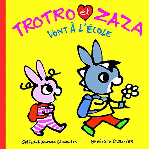 Trotro et Zaza vont à l'école (Trotro et Zaza - Giboulées)