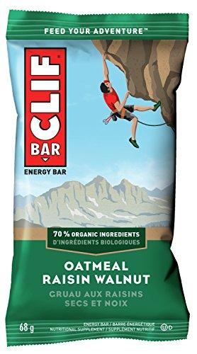 CLIF BAR - Energy Bars - Oatmeal Raisin Walnut- (68 Gram Protein Bars, 12 Count)