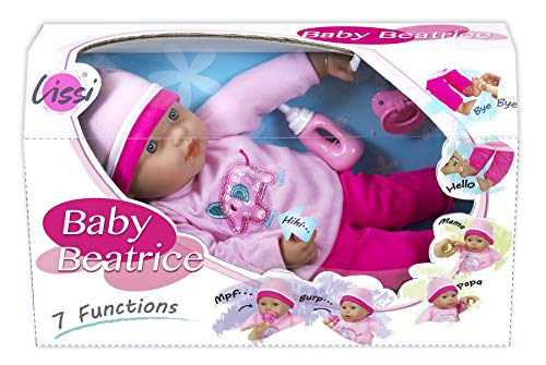 Lissi 16' Interactive Baby Doll with Accessories