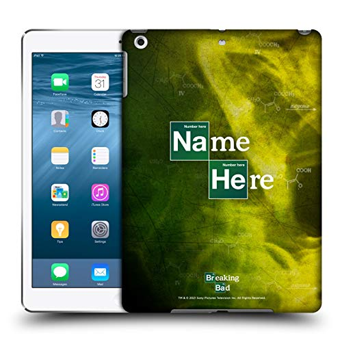 Head Case Designs Personalizzata Personale Breaking Bad Iniziali e Numero Logo Cover Dura per Parte Posteriore Compatibile con Apple iPad Air (2013)