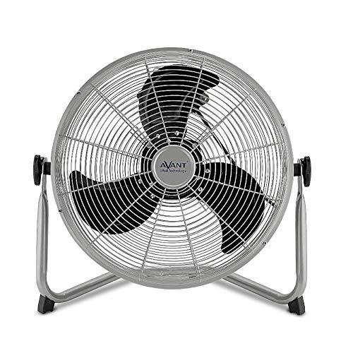 AVANT Ventilador de Suelo Ventilador con Rejilla de Aire Regulable   Ventilador silencioso 2 Velocidades   Tamaños 30cm   Potencia 40W.