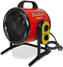 Mecafer mh3000vt - Calefactor de taller (3000 W, Turbo máximo, 40 m2)