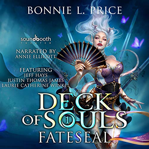 Fateseal     Deck of Souls, Book 1              By:                                                                                                                                 Bonnie L. Price                               Narrated by:                                                                                                                                 Annie Ellicott,                                                                                        Laurie Catherine Winkel,                                                                                        Jeff Hays,                   and others                 Length: 18 hrs and 38 mins     4 ratings     Overall 4.8
