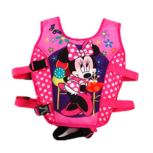 Minnie Mouse Floatation Supplements for Children Aged 3 to 9 Years to Perform Any Type of Activity in Pools, Sea, Swamps or Rivers (Weight: 14-23 kg)