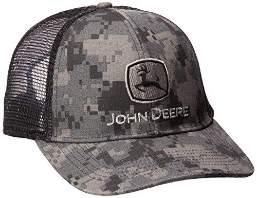 john deere mesh hats John Deere Men's Digital Camo and Mesh Cap Embroidered
