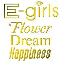 カッティングステッカーS 『E-girls』 金 014G