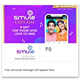 Smule gift card offers a premium Smule VIP subscription. VIP pass takes fun to a new level, giving shared access for both iOS and Android, with no ads appearing. Smule VIP users can customize their profiles and tailor sound with vocal filters, sing a...