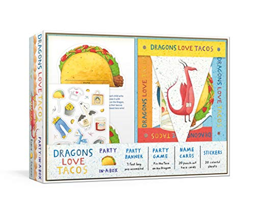 Dragons Love Tacos Party-in-a-Box: …