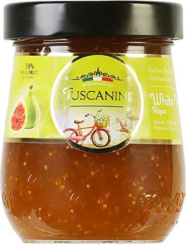 Tuscanini Premium Italian Fig Preserves, 11.64 oz Jar, Spreadable Fruit...