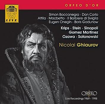 Ghiaurov: Opernszenen (1969-1998)
