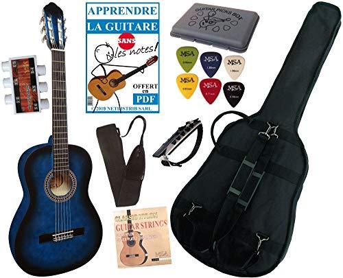 Pack Guitare Classique 4/4 Avec 5 Accessoires ~...