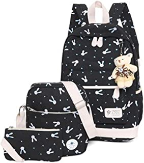 Simple Canvas School Students Backpack/Small Fresh Casual Shoulder Bag