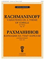 Variations on a Theme of Corelli. For Piano. Op. 42