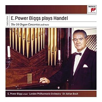 E. Power Biggs Plays Handel - The 16 Concertos and More