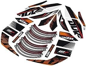 NEW KTM RACELINE STICKER KIT DECALS 125 200 390 DUKE 2015 90608999000