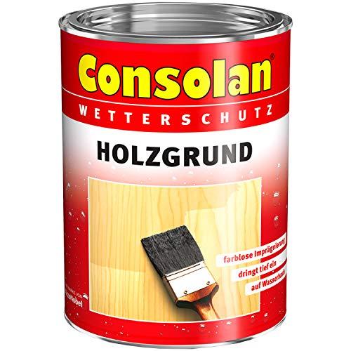 Consolan Wetterschutz Holzgrund wässrig, schützt vor Bläue, 750 ml