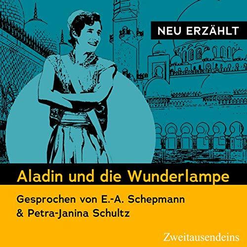 Aladin und die Wunderlampe - Neu erzählt Titelbild