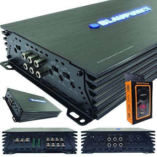 Blaupunkt AMP1404 Car Audio 4-Channel Amp Amplifier 1500 Watts Max