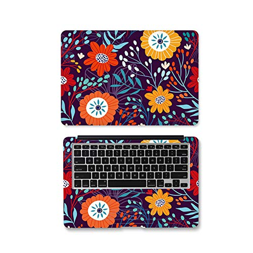 Ax-009-12 Case for Xiaomi Air 13.3 / Asus / Macbook Pro / Acer / HP / Lenovo Self-Adhesive Flower Skin Cover for Laptops 12 Inches / 14 Inches / 15.6