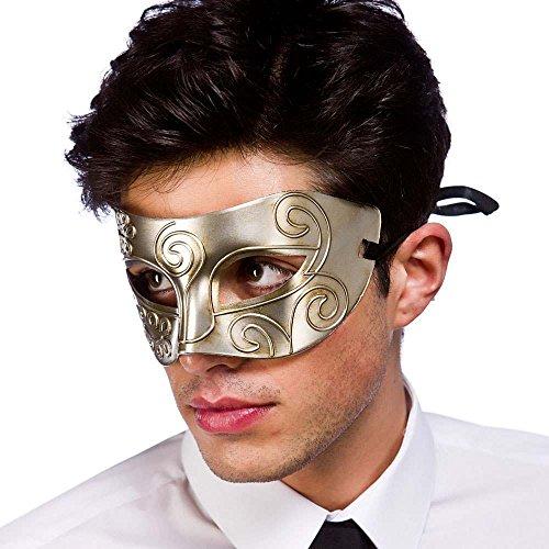Rome Eyemask - Antique Silver