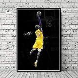 NVRENHUA Kobe Bryant Cover Basketballspieler Super Star Art