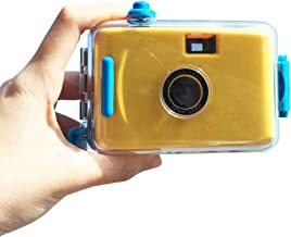 ZHENDUO Reusable Disposable Single Use Camera Roll Film Set Underwater Waterproof Marine Camera 36 Exposure Vintage Old School Style Fashion Gifts Wedding Party Birthday Swimming Pool Travelling