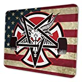 Gaming Mouse Pad Thrasher Pentagram Cross Non-Slip Rubber Base Mouse Pad