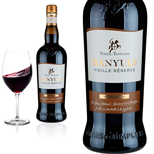 Banyuls Traditionel Vieille Reserve Terres des Templiers Rotwein