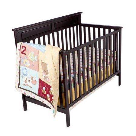 Kidsline Tiddliwinks ABC 123 3pc Baby Crib Bedding Set by tiddliwinks