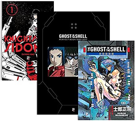 The Ghost in the Shell + Ghost in the Shell Perfect Book + Brinde Knights of Sidonia 1 - Caixa